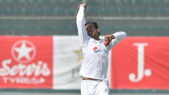 Photo of left-arm spinner Nauman Ali(ICC/Twitter)
