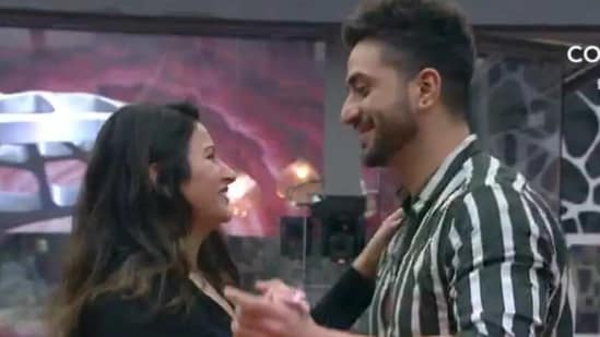 Sonali Phogat with Aly Goni on Bigg Boss 14.