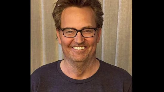 The image shows Matthew Perry.(Instagram/@mattyperry4)