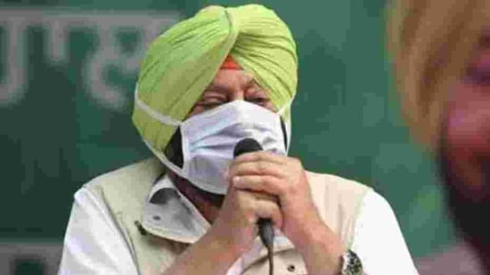 Punjab chief minister Amarinder Singh(Sanchit Khanna/HT photo)