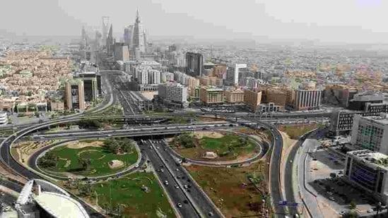 General view of Riyadh city in Saudi Arabia.(Reuters)
