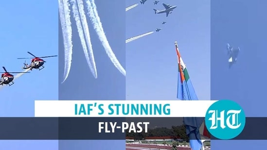 IAF's stunning fly-past