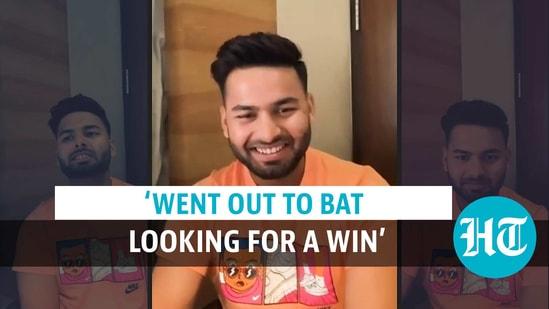 Rishabh Pant on Australia series