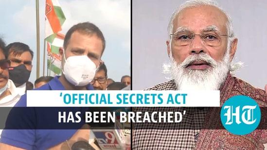 Rahul Gandhi alleged prior information on Balakot air strike was leaked to a journalist