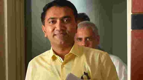 **EDS: FILE PHOTO** New Delhi: In this July 11, 2019 file photo, Goa Chief Minister Pramod Sawant at Goa Niwas in New Delhi. Sawant said he has tested positive for the coronavirus on Wednesday, Sept. 2, 2020. (PTI Photo/Kamal Kishore)(PTI02-09-2020_000073B) (PTI)