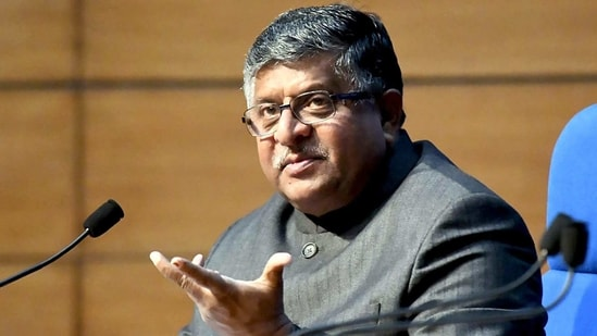Union Minister for Law & Justice, Communications and Electronics & Information Technology, Ravi Shankar Prasad held a press conference on Cabinet Decisions, in New Delhi on Wednesday. (ANI Photo)