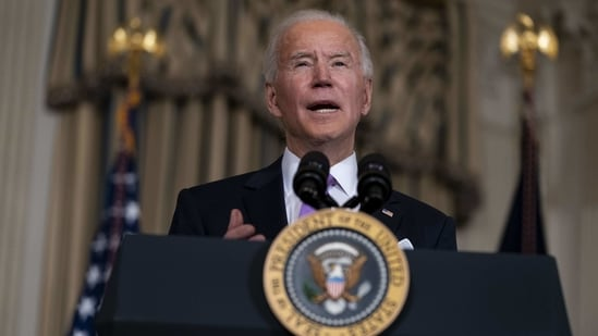 On his first day in office last week, Biden rescinded the US decision to withdraw from the WHO and announced a return to the climate agreement.(Bloomberg)