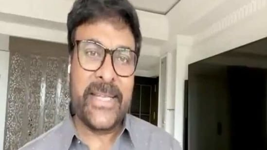 Chiranjeevi plays a middle-aged Naxal in Acharya.
