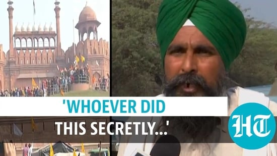 SS Pandher commented on violence during Delhi tractor rally (ANI)