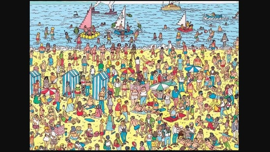 Can You Spot Viral Bernie Sanders Meme In This Where S Waldo Inspired Puzzle Hindustan Times