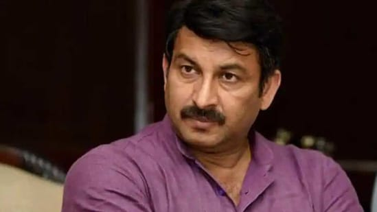 BJP MP Manoj Tiwari hadchallenged the summons issued to him in a criminal defamation case filed by Delhi Deputy Chief Minister Manish Sisodia.(Amal KS/HT File PHOTO)