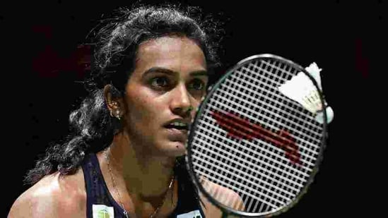 PV Sindhu in action. File(AFP)