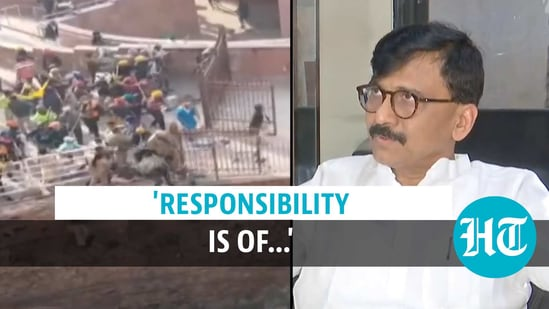 Sanjay Raut held both farmers and government responsible for the situation in Delhi