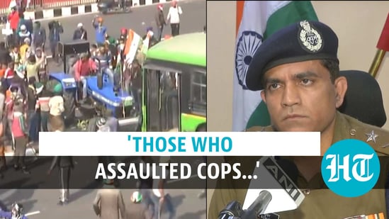 Delhi violence: Watch police officer's warning after farmer rally chaos