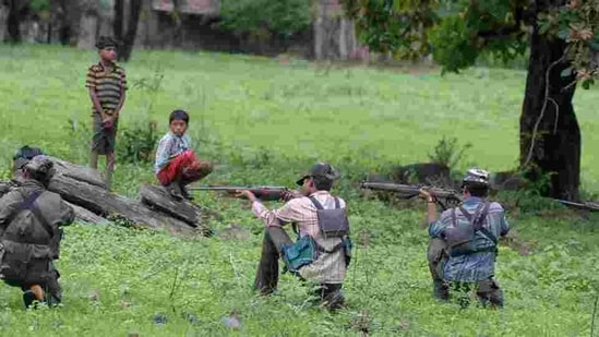 The incident occured when the security forces were engaged in combing operations following information that a team of Maoists was moving in the forests of Chennapuram . (Image used for representation).(FILE PHOTO.)
