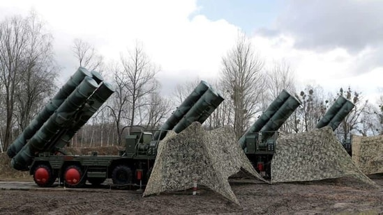 The Russian S-400s air defence system(Representational image/REUTERS)