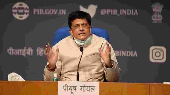 Goyal said that the strong growth of startups could transform India from a screwdriver economy to technology-driven economy.(PTI File Photo)