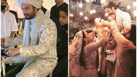 Varun Dhawan and Natasha Dalal tied the knot on Sunday.