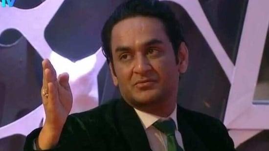 Vikas Gupta has been aggressive on Bigg Boss 14 for past few days.(Colors)