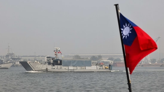 "The Chinese incursions coincided with a U.S. carrier battle group entering the disputed South China Sea to promote ""freedom of the seas"".(Reuters)"