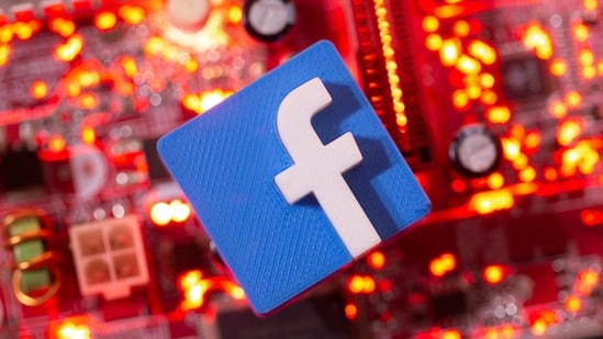 FILE PHOTO: A 3D printed Facebook logo is placed on a computer motherboard in this illustration taken January 21, 2021. REUTERS/Dado Ruvic/Illustration/File Photo(REUTERS)