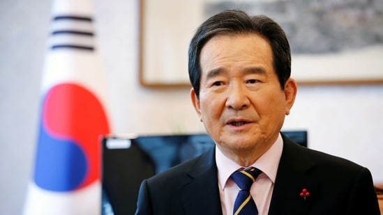 South Korea's Prime Minister Chung Sye-kyun speaks during an interview with Reuters inSeoul, South Korea, January 28, 2021. REUTERS/Heo Ran(REUTERS)