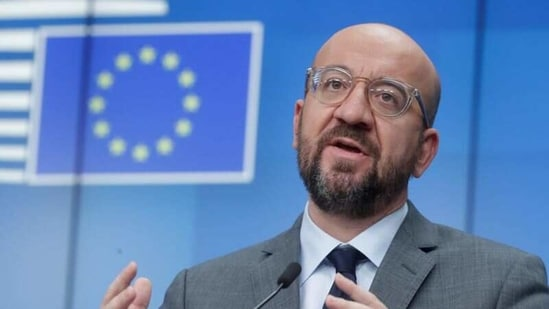 European Council President Charles Michel gives a news conference in Brussels, Belgium.(File Photo / REUTERS)