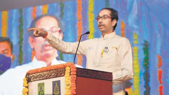 Earlier, Maharashtra Chief Minister Uddhav Thackeray said that areas in north Karnataka which are dominated by Marathi-speakers be declared a Union Territory till the Supreme Court gives final verdict.(HT Photo)