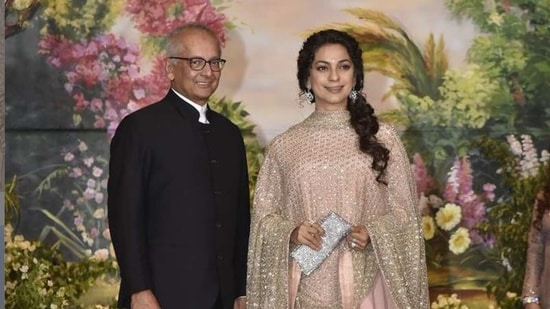 Jay Mehta and Juhi Chawla may have the most beautiful house in all of Mumbai.