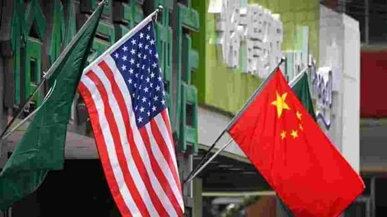 China US have put aside their quarrel on virus origins to sign a trade deal.(afp)