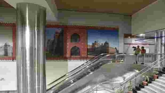 The entry and exit gates of the Lal Quila metro station will remain closed on Thursday, DMRC said. (File Photo )