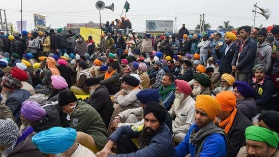 The Centre has repeatedly asserted that these laws will remain and have offered to make amendments into the law.(PTI)