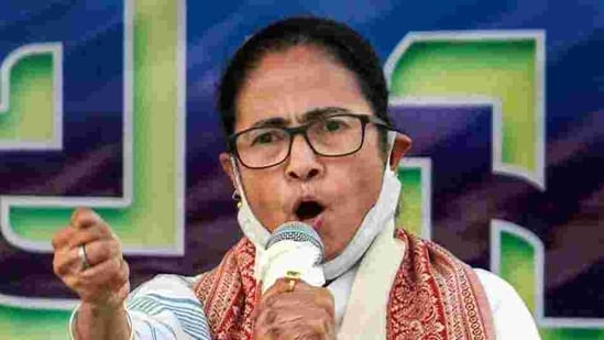 The TMC chief attacked the Modi government on bringing the three contentious farm laws without any prior deliberations.(File photo)