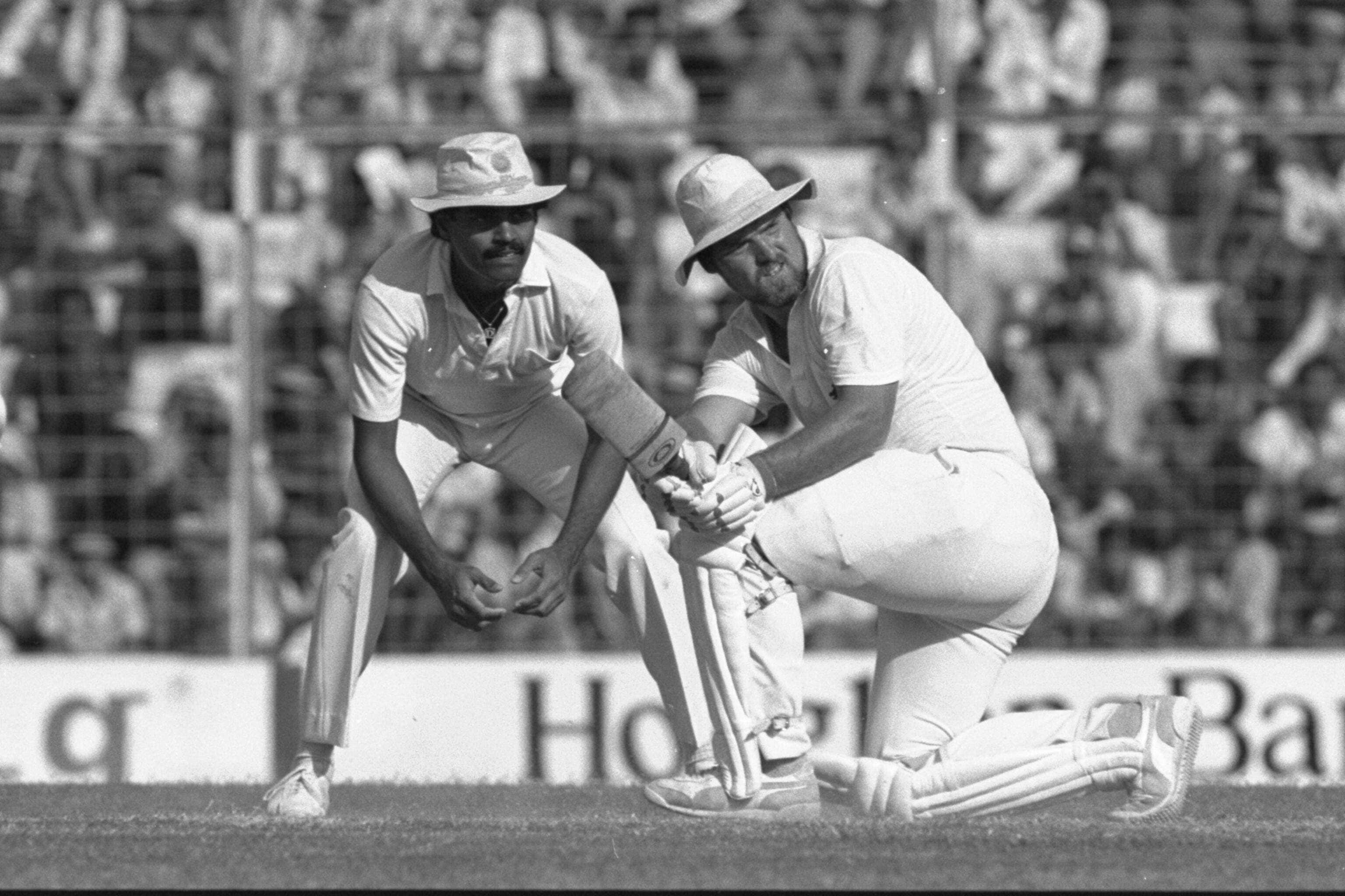 Mike Gatting in action against India(Getty Images)