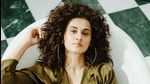 Actor Taapsee Pannu is currently shooting for her film Loop Lapeta.