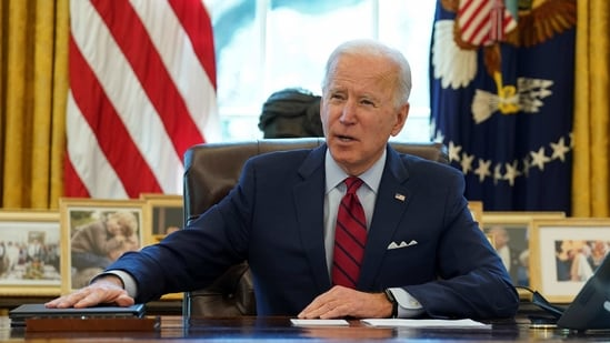 US President Joe Biden. (REUTERS)