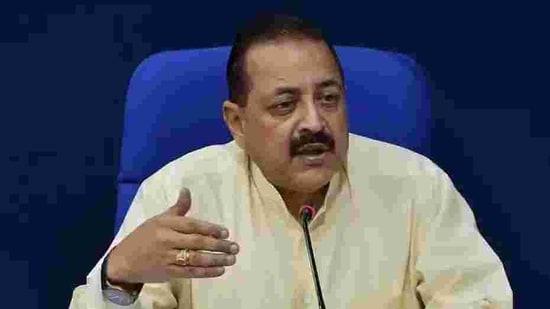 Union minister Jitendra Singh.(HT file)