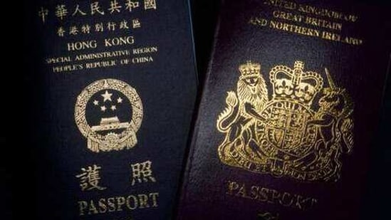 Britain says it is fulfilling a historic and moral commitment to the people of Hong Kong.(AP)
