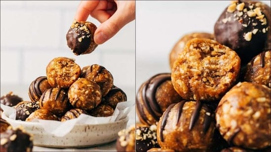 Try this recipe of crunchy peanut butter energy balls for guilt-free sweet treat(Instagram/ butternutbakery)