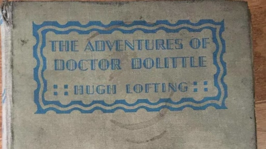 The image shows a copy of Hugh Lofting's The Adventures of Doctor Dolittle.(Instagram/@cbrlibrary)
