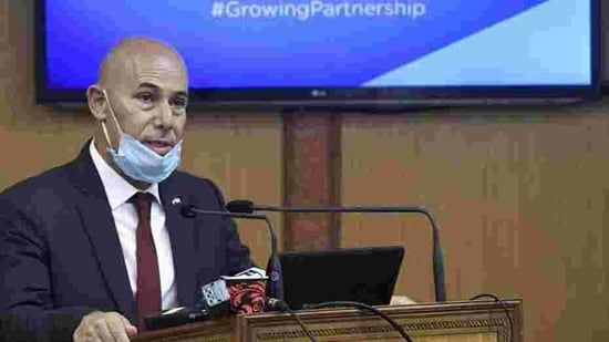 Israel Ambassador to India Ron Malka said the attack happened on the day when they were celebrating the rapidly growing relations with India(PTI Photo)