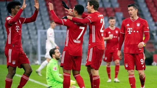 Bayern Munich registered a 4-1 win. (AP)