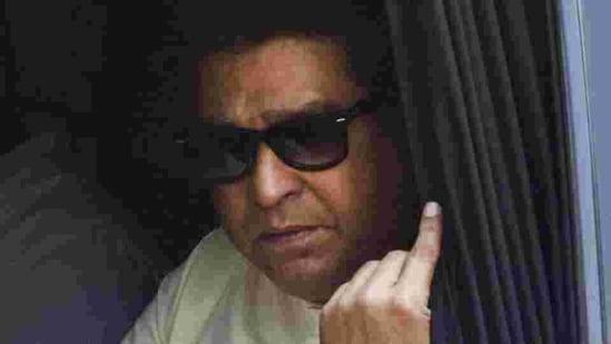 MNS Chief Raj Thackeray.(PTI File)
