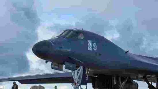 A B-1B Lancer of the US Air Force (File Photo/Reuters)