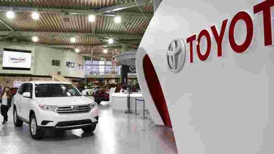 Toyota said its sale had increased in the month of January.