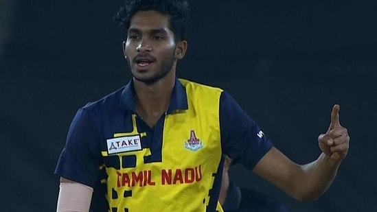 Left-arm spinner M Siddharth grabbed four wickets. (BCCI)