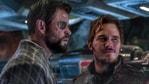 Chris Hemsworth and Chris Pratt in a still from Avengers: Endgame.