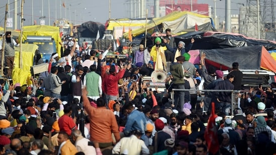 """We will do a three-hour chakka jam on February 6 across the nation. These will be on the national and state highways,"""" Balbir Singh Rajewal said.(ANI)"""