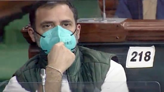 """Rahul Gandhi tweeted """"Forget putting cash in the hands of people, Modi government plans to handover India's assets to his crony capitalist friends.""""(ANI)"""