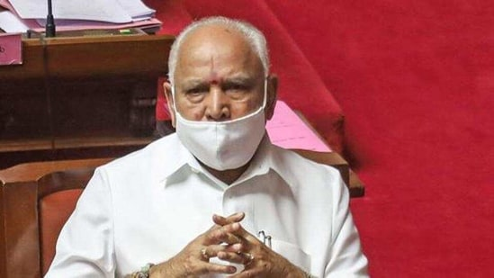 The legislators have already held at least two rounds of meetings with party seniors. In picture - Karnataka chief minister BS Yediyurappa.(PTI)